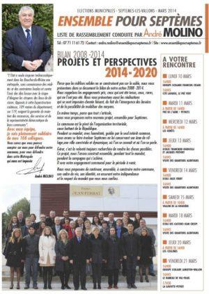 Le projet communal 2014-2020