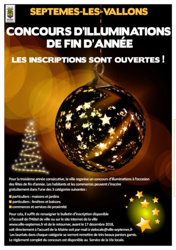 Concours d'illuminations