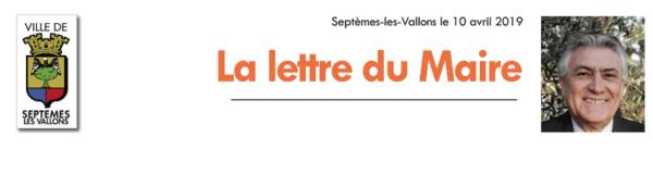 """La lettre du Maire Réunion publique Habitat écoresponsable """"je réduis mes factures énergétiques et je préserve l'environnement"""""""