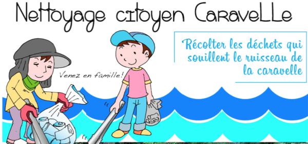 Nettoyage citoyen de la caravelle