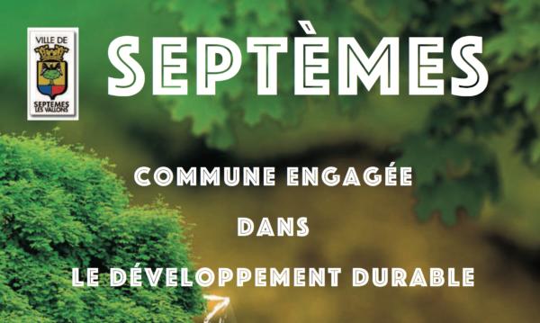 Septèmes commune engagée dans le développement durable