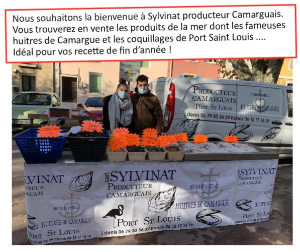 Marché de Septèmes : Sylvinat producteur Camarguais