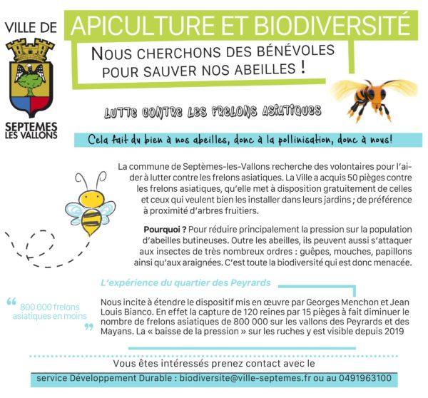 Recherche bénévoles pour sauver nos abeilles