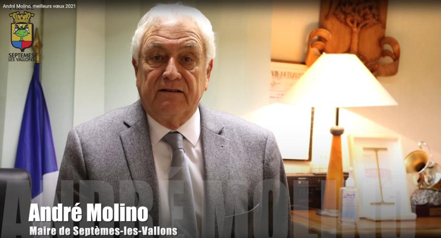 André Molino, meilleurs voeux 2021