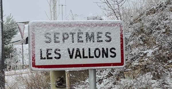 Neige à Septèmes retour en images !