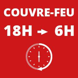 Couvre-feu à 18h dans les Bouches-du-Rhône