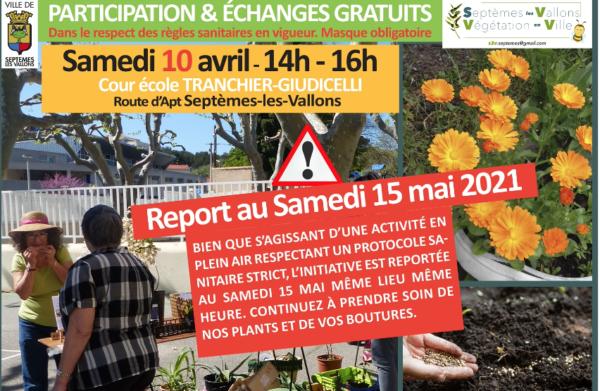 REPORT - Échange et Partage - plantes et graines de nos jardins