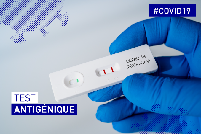 Tests antigéniques COVID-19