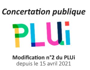 Concertation publique – Modification n°2 du PLUi