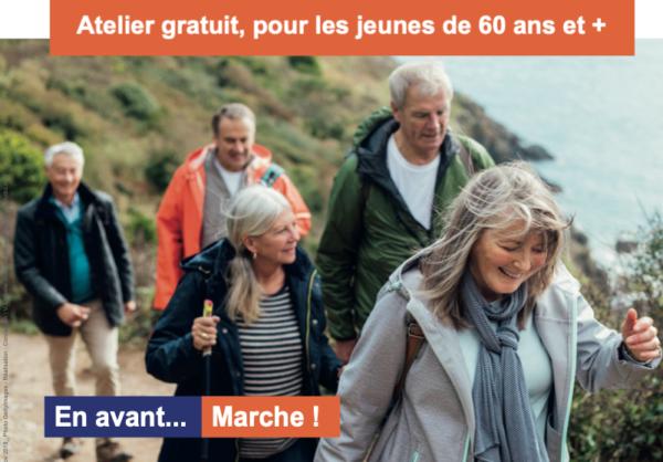 """Atelier """"Marche Active"""" en 4 séances"""