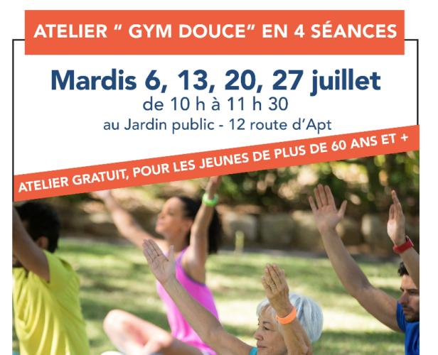 """Atelier """"Gym douce"""" en 4 séances"""