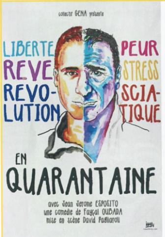 Théâtre En quarantaine avec Jean Jérôme Esposito !