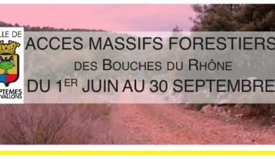 Accès aux massifs forestiers