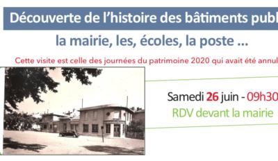 Découverte de l'histoire des bâtiments publics
