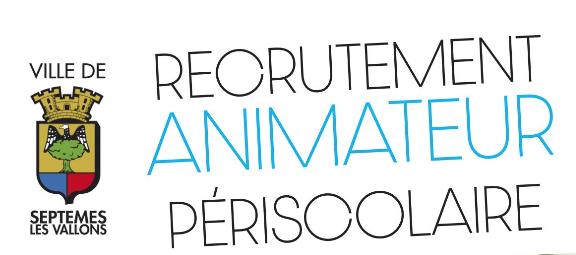 Recrutement animateur périscolaire