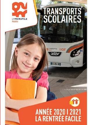 Abonnement transports scolaire 2021