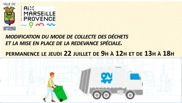 modification du mode de collecte des déchets et la mise en place de la redevance spéciale