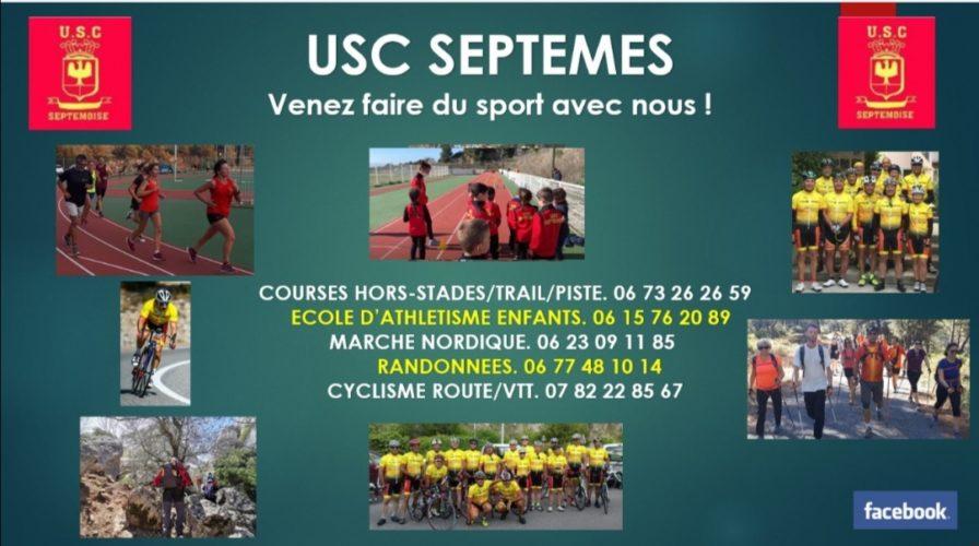 USCS Venez faire du sport…!