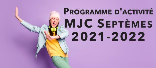 Programme d'activité MJC Septèmes