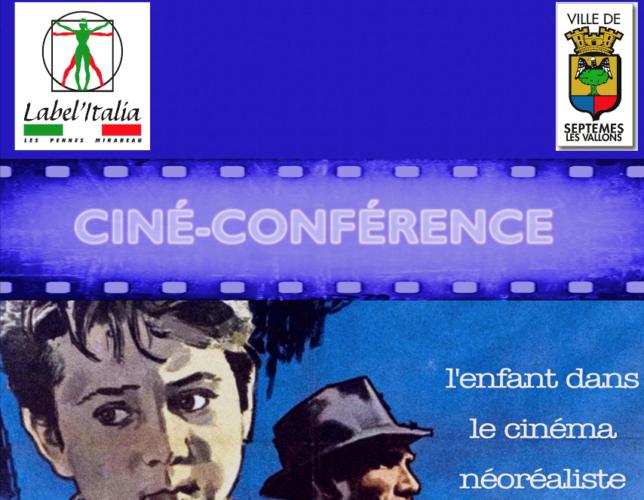 Ciné-Conférence l'enfant dans le néoraliste