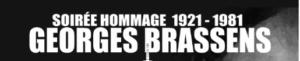 Soirée Hommage à Georges Brassens