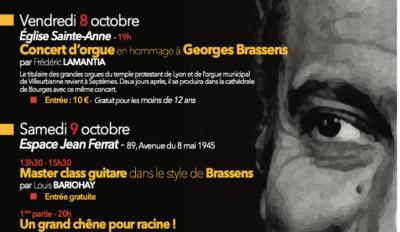 Hommage Georges Brassens